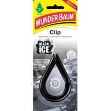 WUNDER BAUM CLIP, BLACK ICE