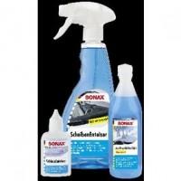 SONAX ZIMSKI SET (sprej za odleđivanje 500 ml, odleđivač bravica, 50ml,+ tečnost za stakla, 250ml koncentrat)
